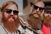Встреча бородачей в Москве