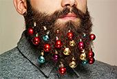9 способов украсить бороду к Новому году