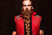 Косички в бороде