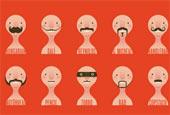 Борода и усы в дизайне