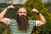 Российская команда бородачей на мировом чемпионате