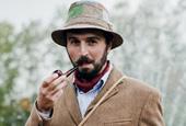 Конкурс бородачей на Tweed Ride Moscow